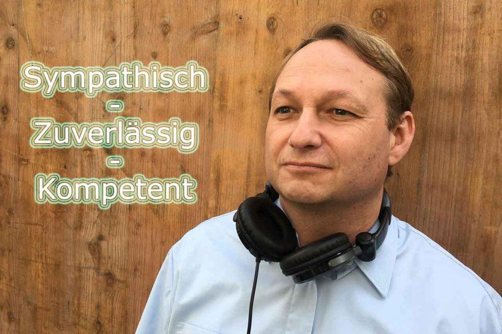 DJ Sven Wiese - Sympathisch-Zuverlässig-Kompetent