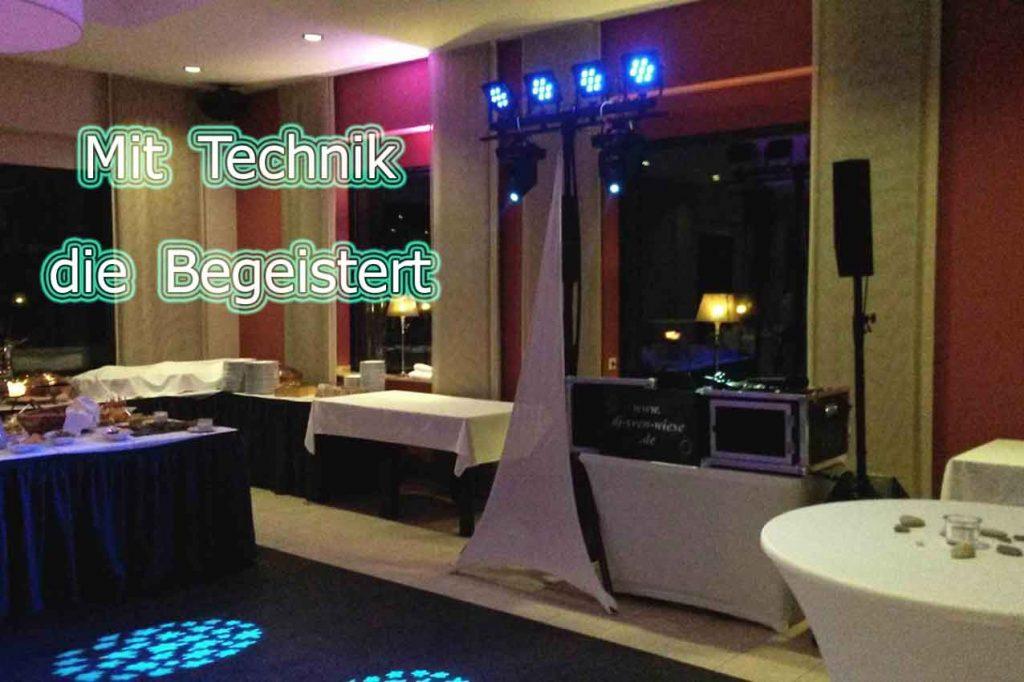 DJ Sven Wiese - Mit Technik die Begeistert