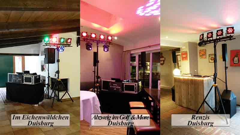 DJ Duisburg Locations