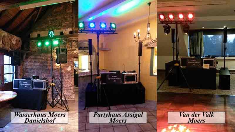 DJ Moers Locations